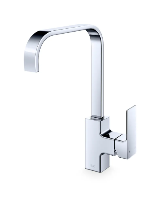 F840- Chrome, Quad Series Kitchen Faucet - Vanity Sale