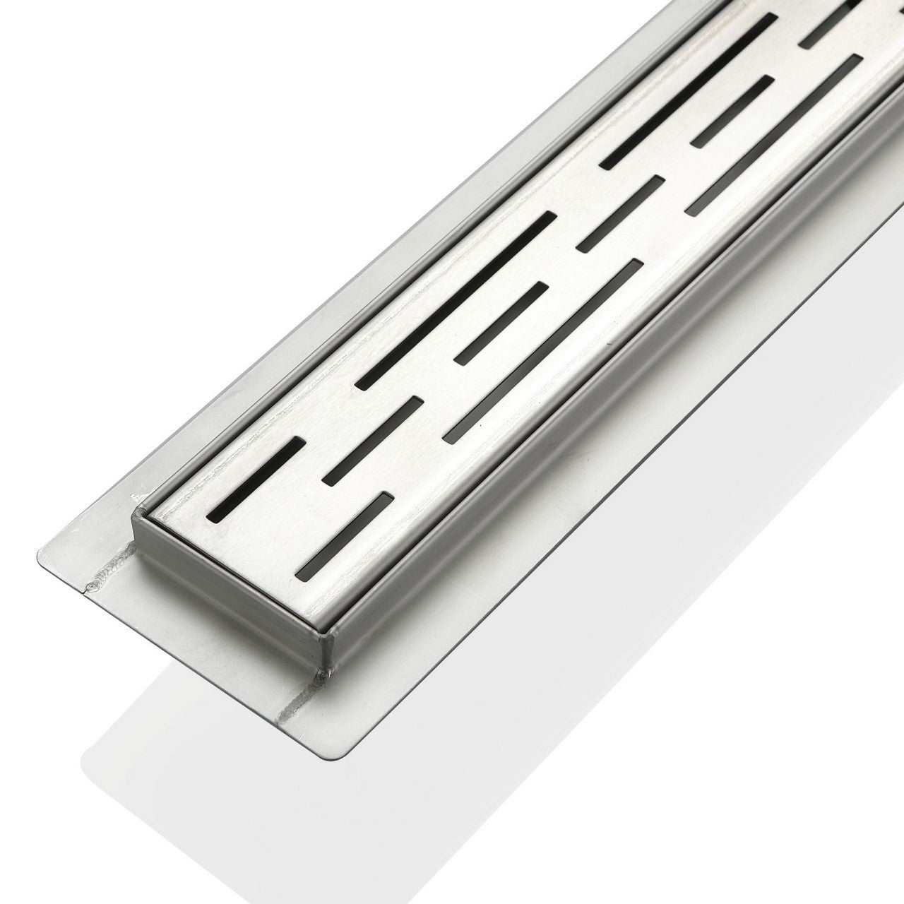 LINEAR GRATE- 28″ Stainless Steel Linear Shower Drain - Vanity Sale