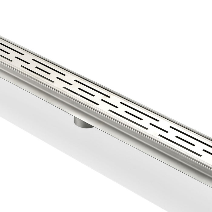 LINEAR GRATE- 48″ Stainless Steel Linear Shower Drain - Vanity Sale