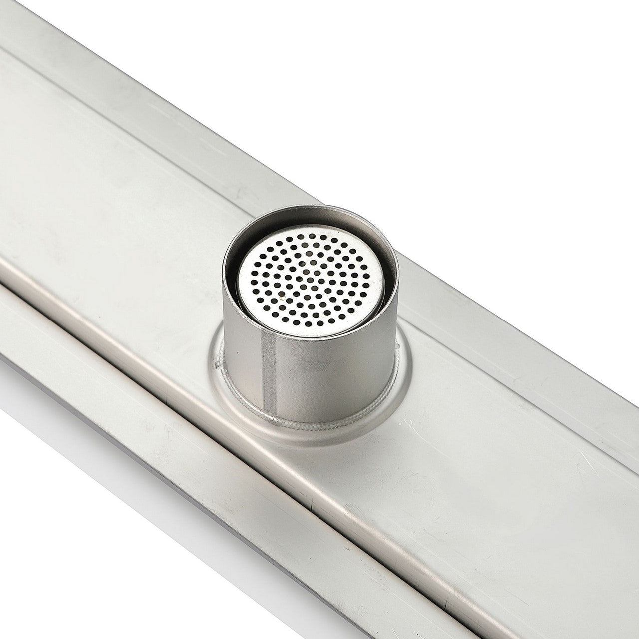 TILE GRATE- 48″ Stainless Steel Linear Shower Drain - Vanity Sale