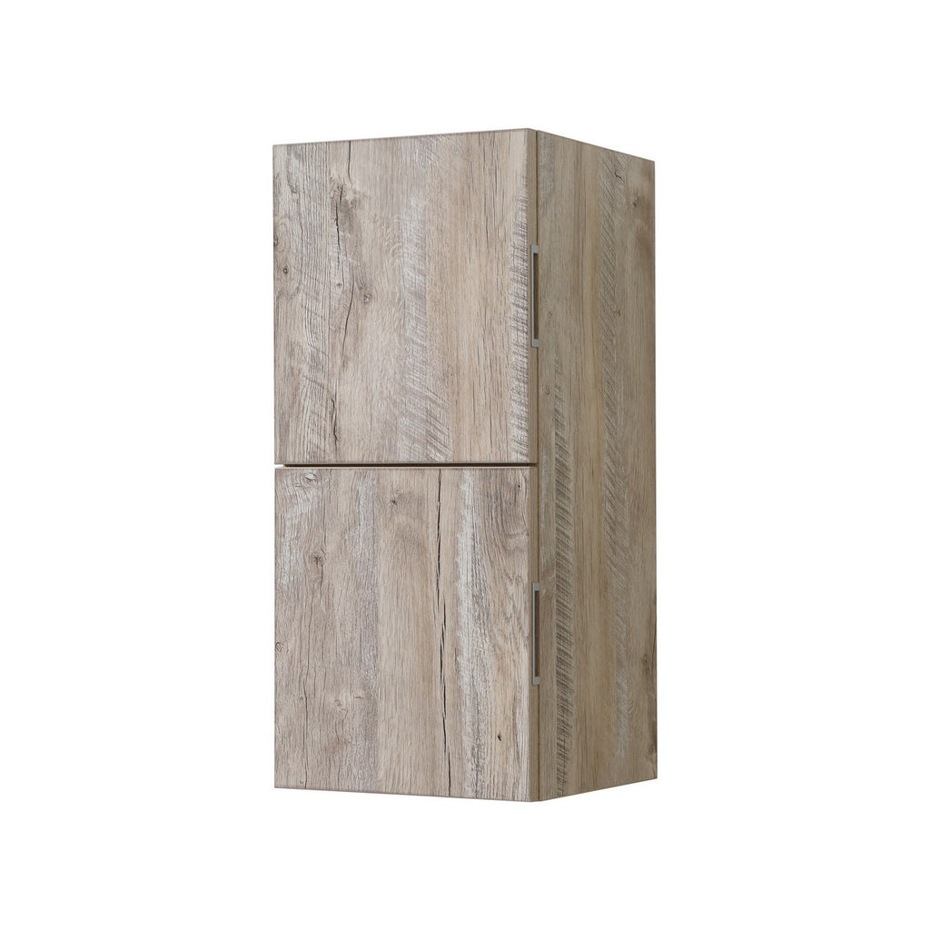 "28"" High Bathroom Linen Side Cabinets, Nature Wood - Construction Commodities Supply Inc."