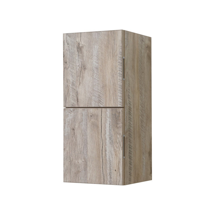 "28"" High Bathroom Linen Side Cabinets, Nature Wood - Vanity Sale"