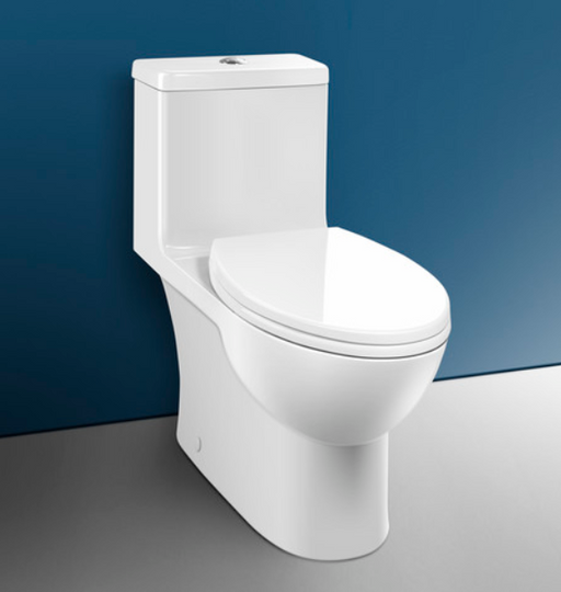 Caravelle Smart 270 - One Piece Easy Height Elongated Toilet - Construction Commodities Supply Inc.