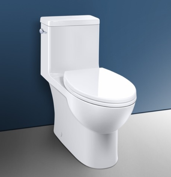 Caravelle Smart 270- One Piece (Lever) Easy Height Elongated Toilet - Vanity Sale