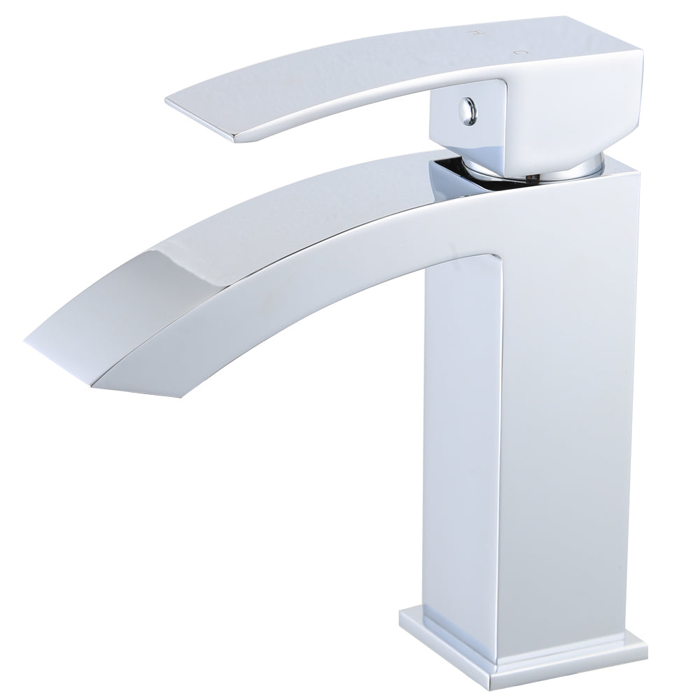 KODAEN- F11103 Single Handle, Chrome Bathroom Faucet - Construction Commodities Supply Inc.