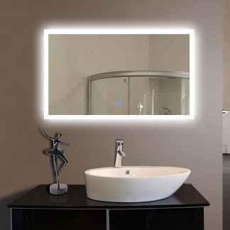 MSL-112 Anti-Fog LED Mirror - Construction Commodities Supply Inc.