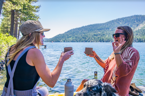 Mojitos for two at Donner Lake