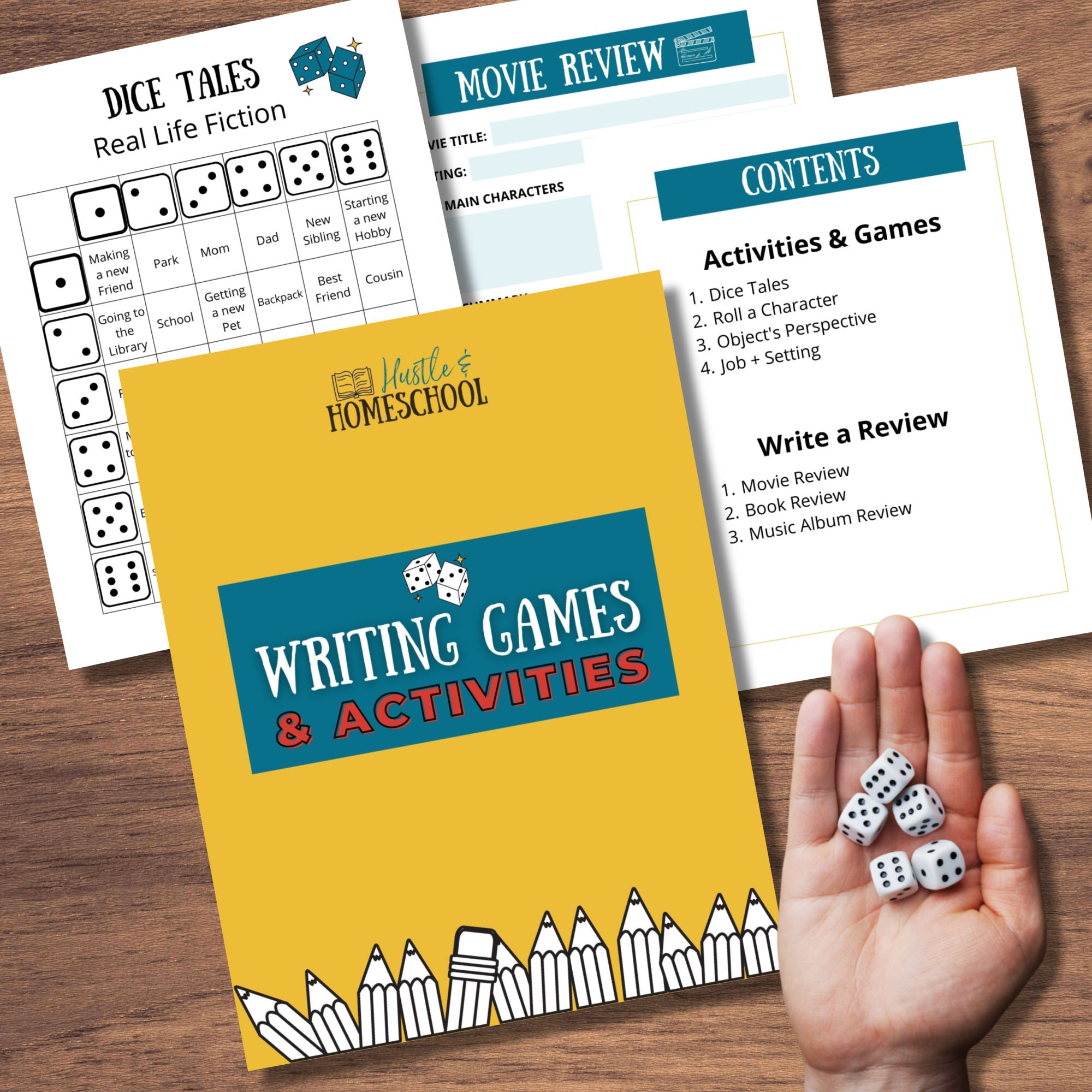 Writing Games & Activities