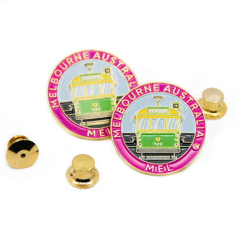 Melbourne Tram Australia Travel Pin