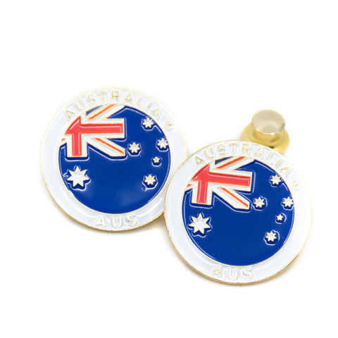 Flag of Australia Travel Pin
