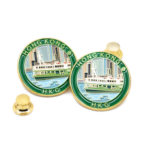 Star Ferry  Hong Kong Travel Pin