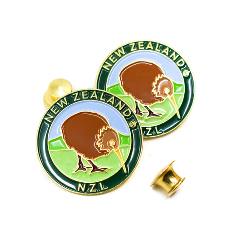Kiwi National Animal  New Zealand Travel Pin