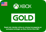 Xbox Live Gold Card USA