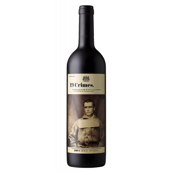 Vino Tinto 19 Crimes Red Blend - Tuponeselvaso.com