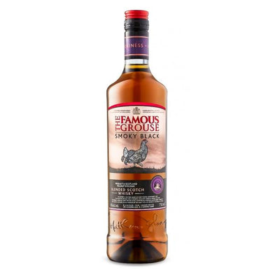 Whisky Famous Grouse Smoky Black - Tuponeselvaso.com