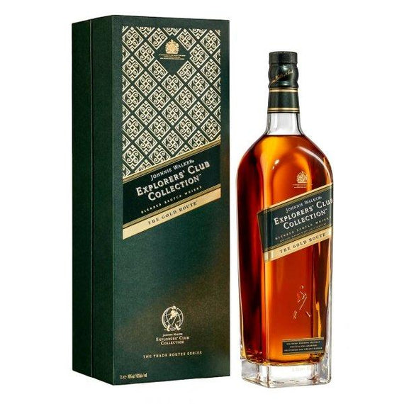 Whisky Johnnie Walker Explorer's Club Collection The Gold Route Estuchado - Tuponeselvaso.com