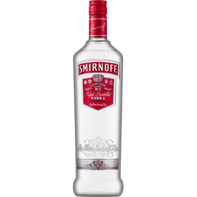 Vodka Smirnoff Red Label - Tuponeselvaso.com
