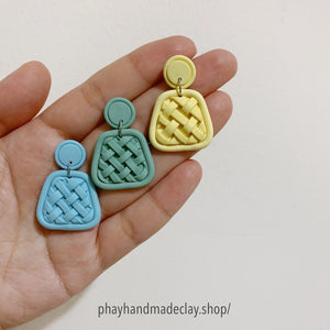 Clay Woven Earrings Collection