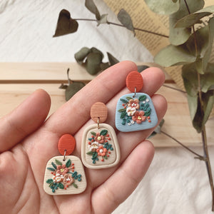 Fleur Spring Summer Earrings Collection