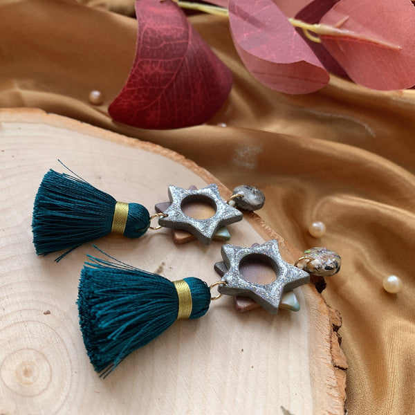 Handmade Polymer Clay Earrings - W04