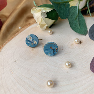 Handmade Polymer Clay Earrings -STUD W20
