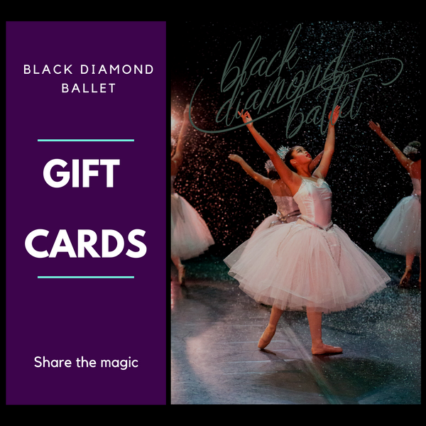 Black Diamond Ballet E-Gift Cards