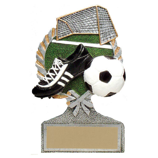 Soccer Trophy - Vintage Wreath (A3062) - Quest Awards