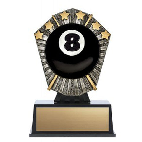 Billiards Trophy - Cosmos Mini - (A3629) - Quest Awards