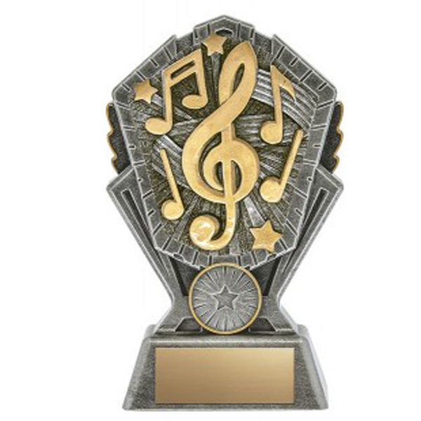Music Trophy - Cosmos - 3 Sizes (A3637)