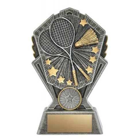 Badminton Trophy - Cosmos - 3 Sizes (A3611) - Quest Awards