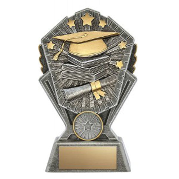 Graduation Trophy - Cosmos - 3 Sizes (A3633) - Quest Awards