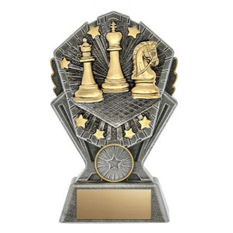 Chess Trophy - Cosmos - 3 Sizes (A3620)