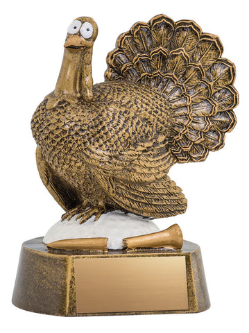 Golf Trophy - Turkey Golf (A2601) - Quest Awards