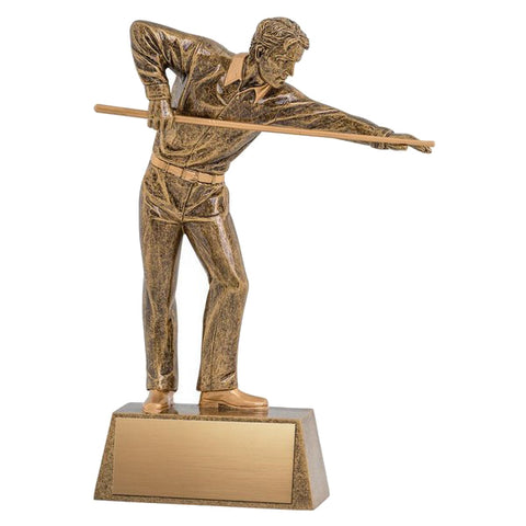 Billiards Trophy - Pinnacle Billiards Player (A2239) - Quest Awards