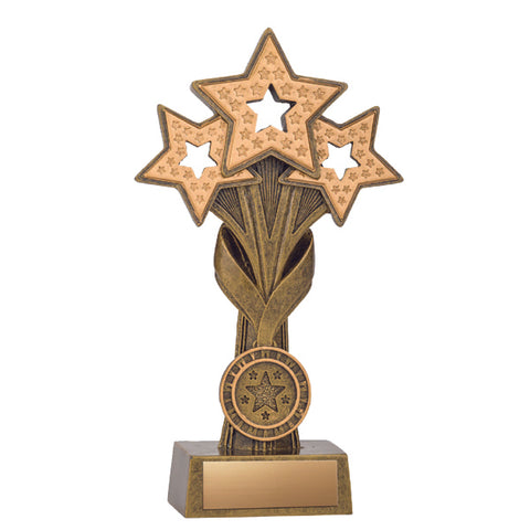 Achievement Trophy - Star Cascade - 2 Sizes (A3308) - Quest Awards