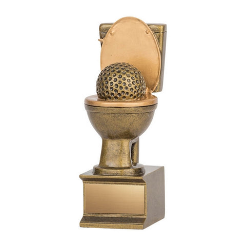 Golf Trophy - Golden Flush (A3253) - Quest Awards