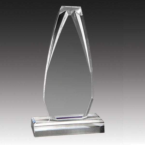 Acrylic Award - Alpine Series - Tower (A2055) - Quest Awards