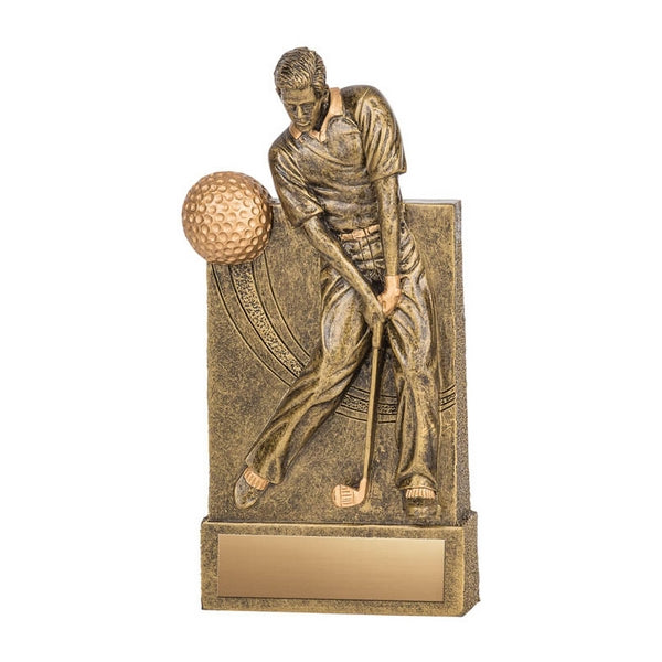 Golf Trophy - Vision Male Golfer (A2602) - Quest Awards