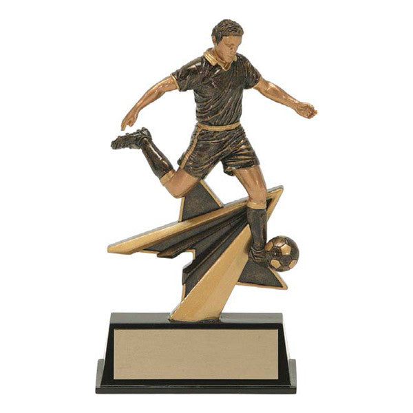 Soccer Trophy - Star Power Male (A3056) - Quest Awards