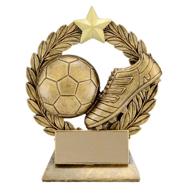 Soccer Trophy - Garland (A3021) - Quest Awards