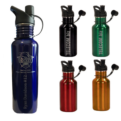Stainless Steel Water Bottles - Quest Awards
