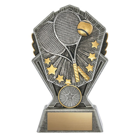 Tennis Trophy - Cosmos - 3 Sizes (A3630)