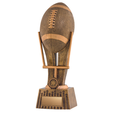 Football Trophy - Focus Football - 2 Sizes (A2452) - Quest Awards