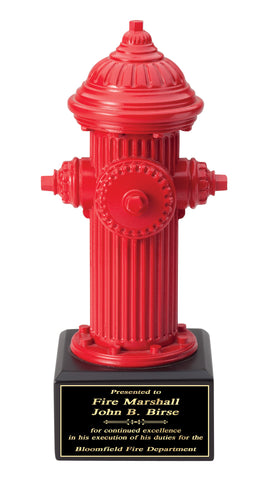 Firefighter Trophy - Hydrant - Quest Awards