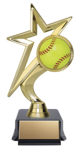Softball Trophy - Meteor - Quest Awards