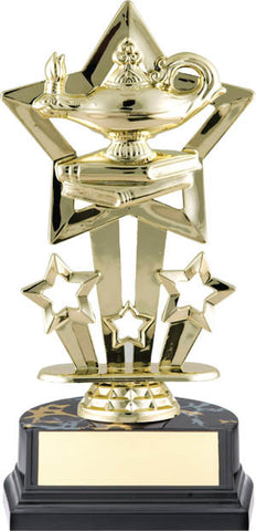 Lamp of Knowledge Trophy - Superstar Economy - Quest Awards