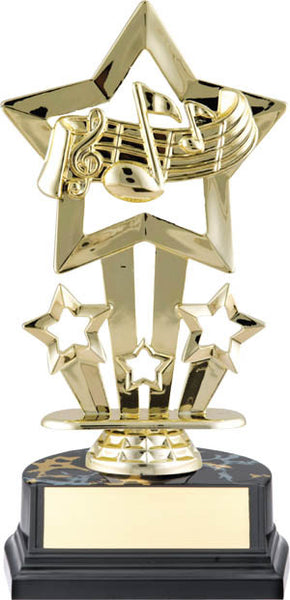 Music Trophy - Superstar Economy - Quest Awards