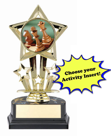 Trophy - Economy Big Star Insert Award - Quest Awards - 1