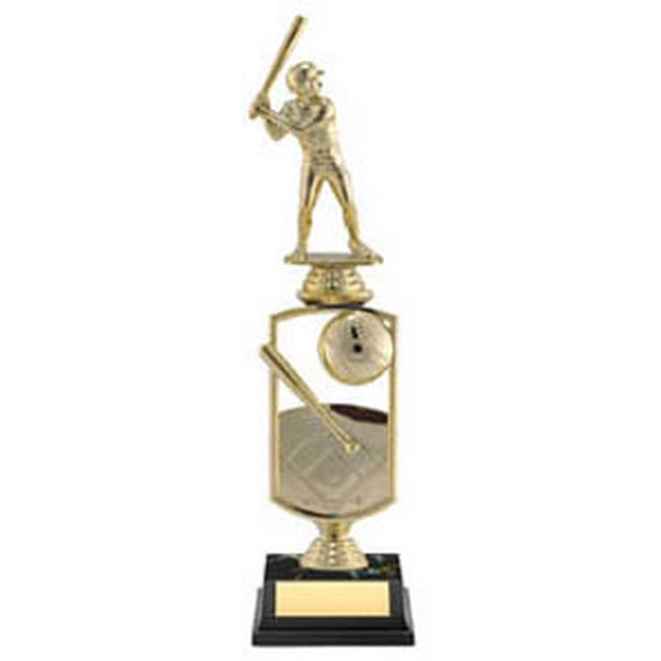Baseball Trophy - All Star with Player (A3278) - Quest Awards