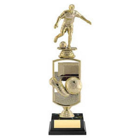 Soccer Trophy - All Star with Player (A3284) - Quest Awards